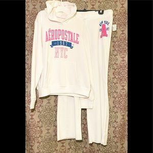 Aeropostale Set, matching hoodie & sweatpants,New!
